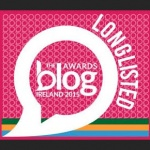 The Blog Awards Ireland: Longlisted 2015
