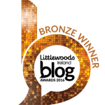 Littlewoods Ireland Blog Awards 2016- Bronze winner