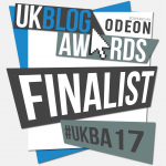Finalist- UK Blog Awards