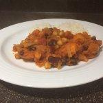 My recipe for Sweet potato chilli in the Voucherbox.co.uk recipe book