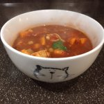A recipe for Moroccan Harissa Chicken soup