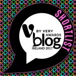 Shortlisted V by Very Blog awards Ireland